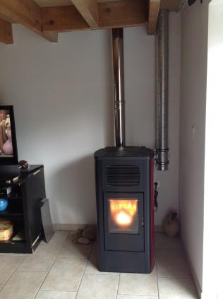 RED Primula avec canalisation de la chaleur en étage, deux chambres